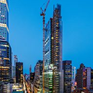 Foster + Partners' 425 Park Avenue skyscraper nears completion in New York