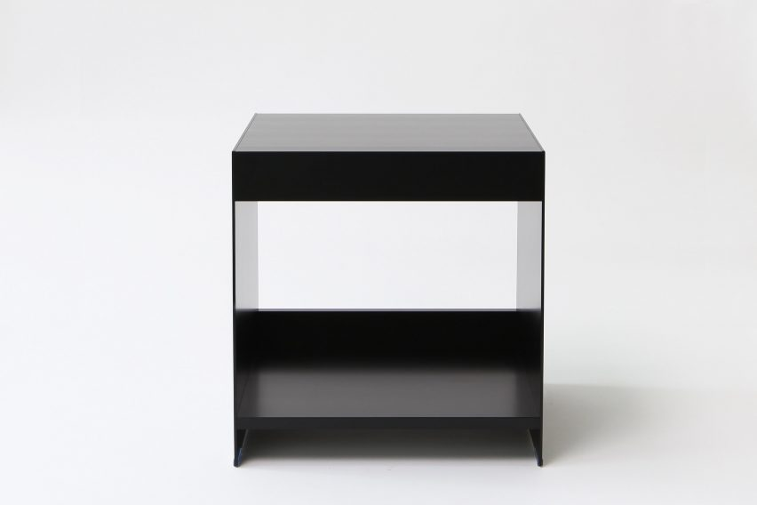 Small side table from ON&ON's freestanding shelving system