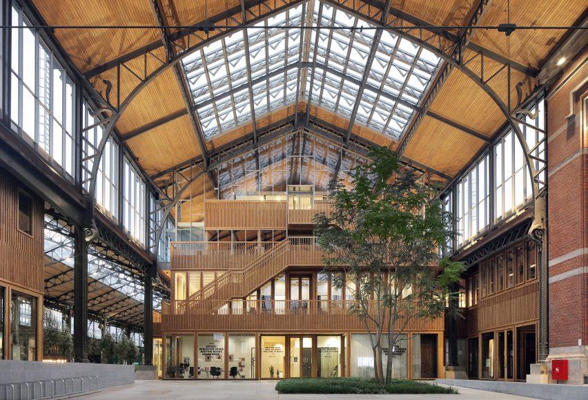 Cross-laminated timber pavilion