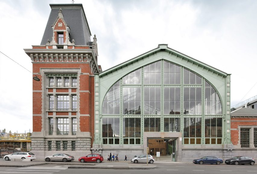 Gare Maritime CLT conversion by Neutelings Riedijk Architects in Brusselsa