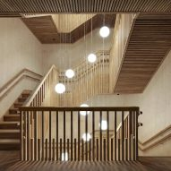 Staircase of Neutelings Riedijk Architects