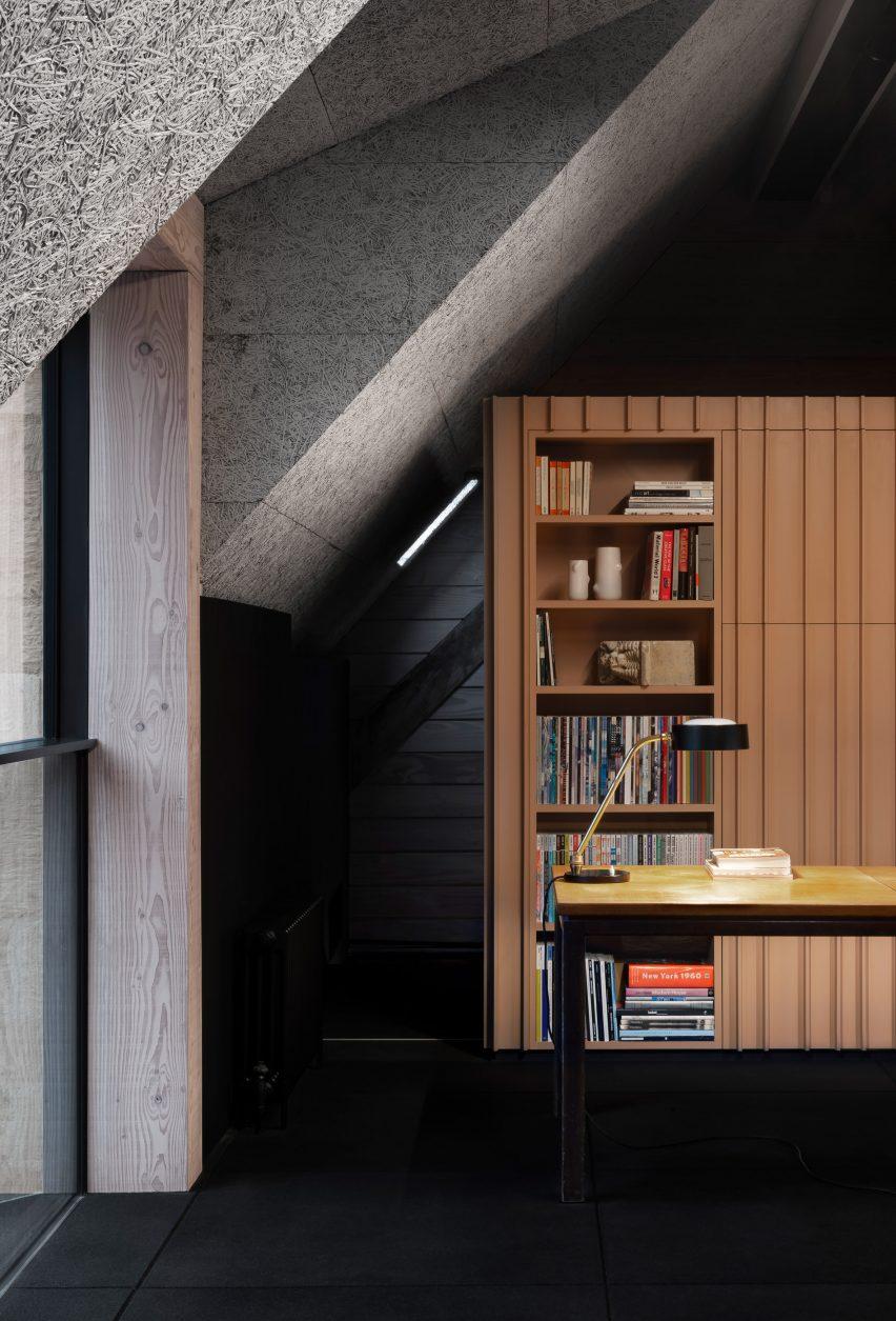 Office interior of Richard Parr Associates' Grain Loft Studio