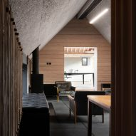 Office interior of Richard Parr Associates' Grain Loft Studio