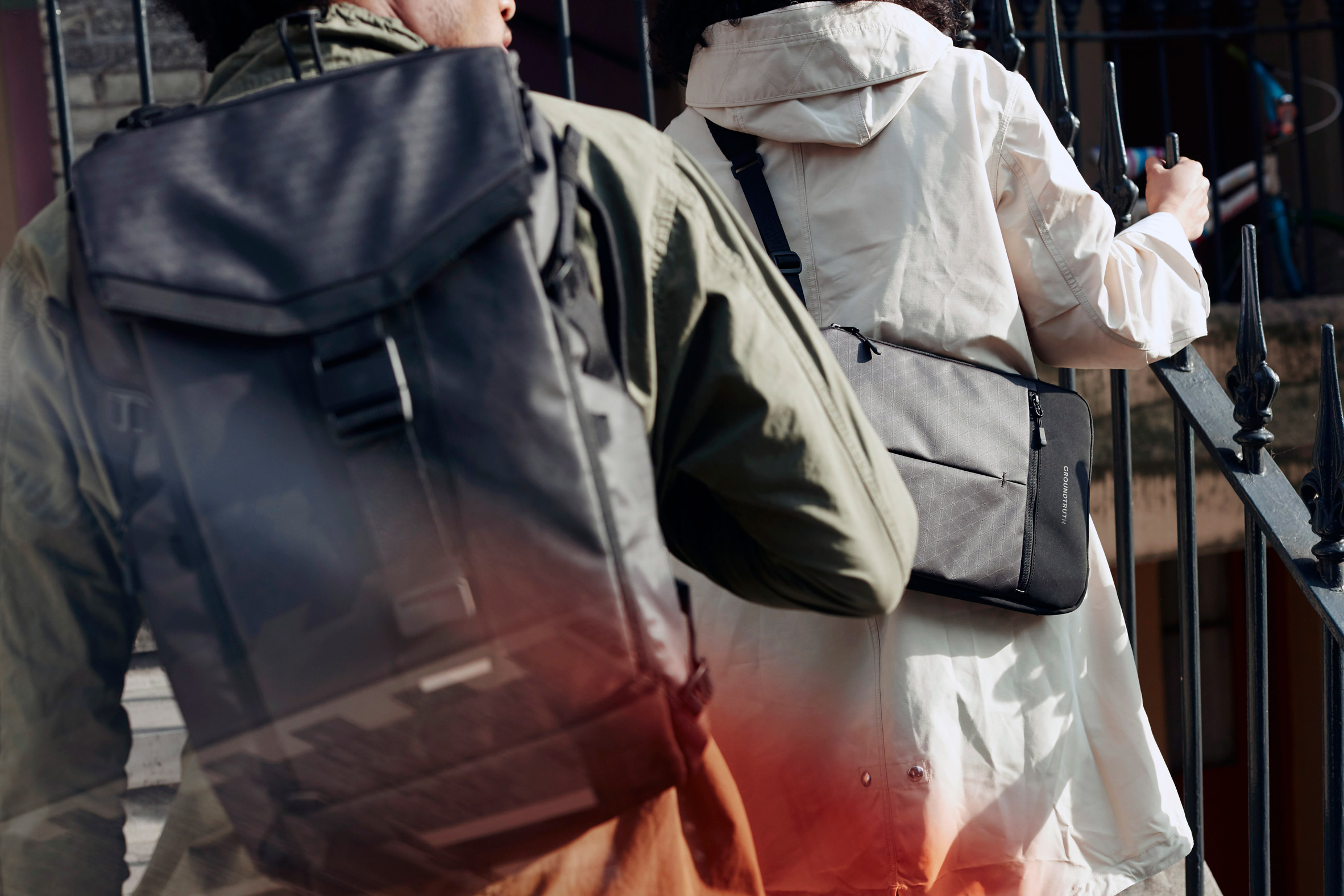 Groundtruth's recycled plastic backpack can withstand Arctic conditions