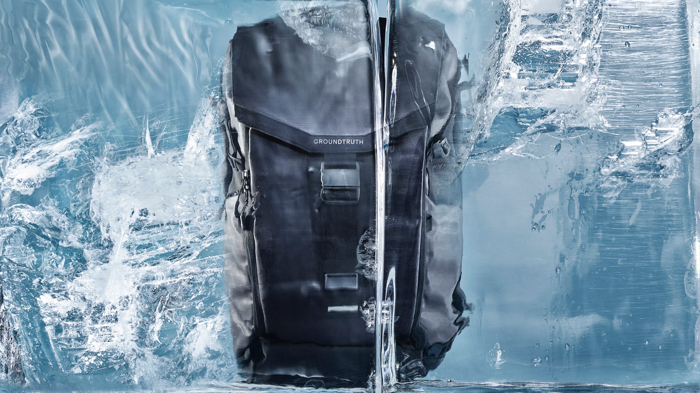 RIKR is a recycled plastic backpack by Groundtruth that can withstand Arctic conditions