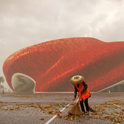 Guangzhou Show Theatre by Steven Chilton Architects