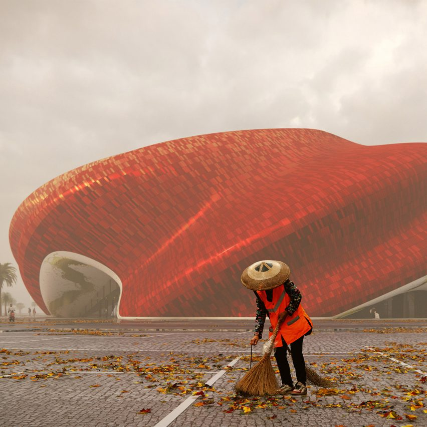 Steven Chilton Architects reveals visuals of silk-informed theatre in Guangzhou
