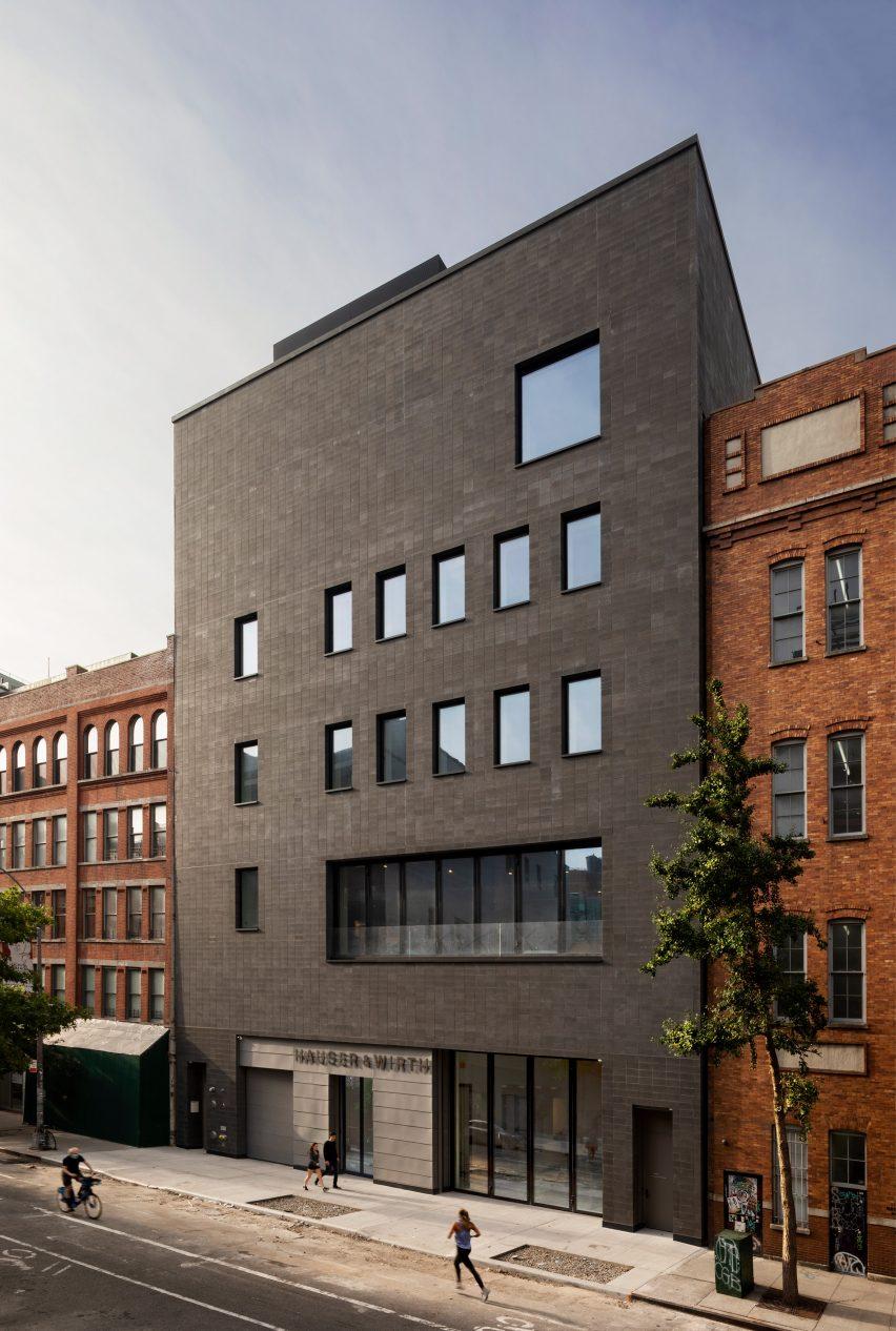 Exterior de Hauser & Wirth Chelsea New York por Selldorf Architects