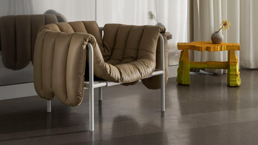 Puffy Lounge Chair by Faye Toogood for Hem