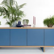 Hopper Credenza by James Burleigh can be customised