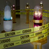 Ini Archibong updates Theoracle installation at DMA to comment on racial injustice