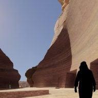 Jean Nouvel reveals cave hotel in Saudi Arabia's AlUla desert