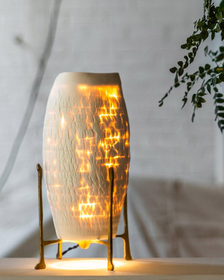 Jes Paone's Desert table light