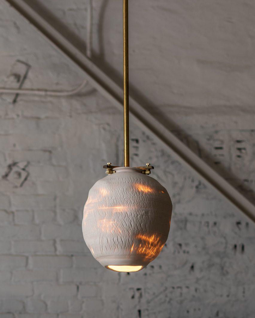 Jes Paone's Desert pendant lights