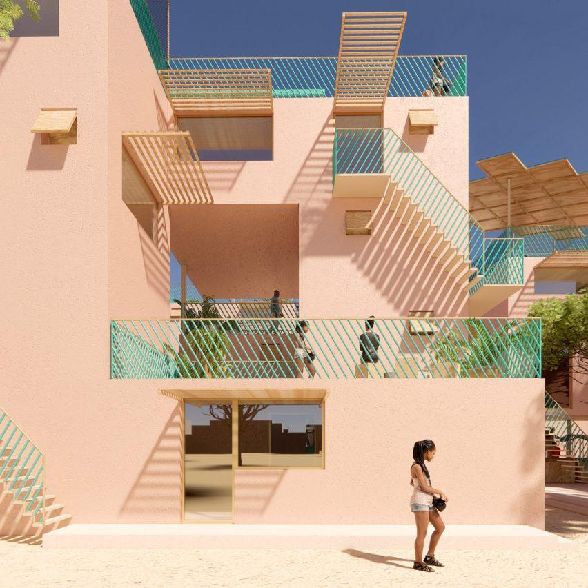 Julien de Smedt designs range of recycled-plastic houses