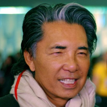 French-Japanese fashion designer Kenzo Takada, who died of coronavirus