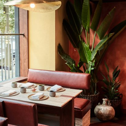 Interiors of Kol restaurant in London takes cues from Mexican culture
