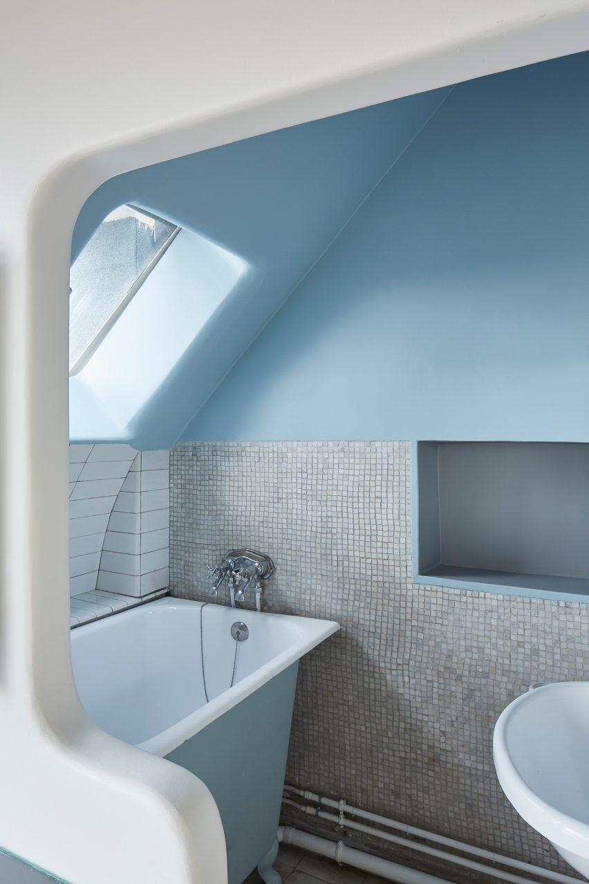 Le Corbusier's bathroom