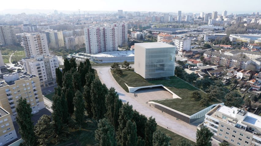 Football museum and HQ for Liga Portugal by OODA