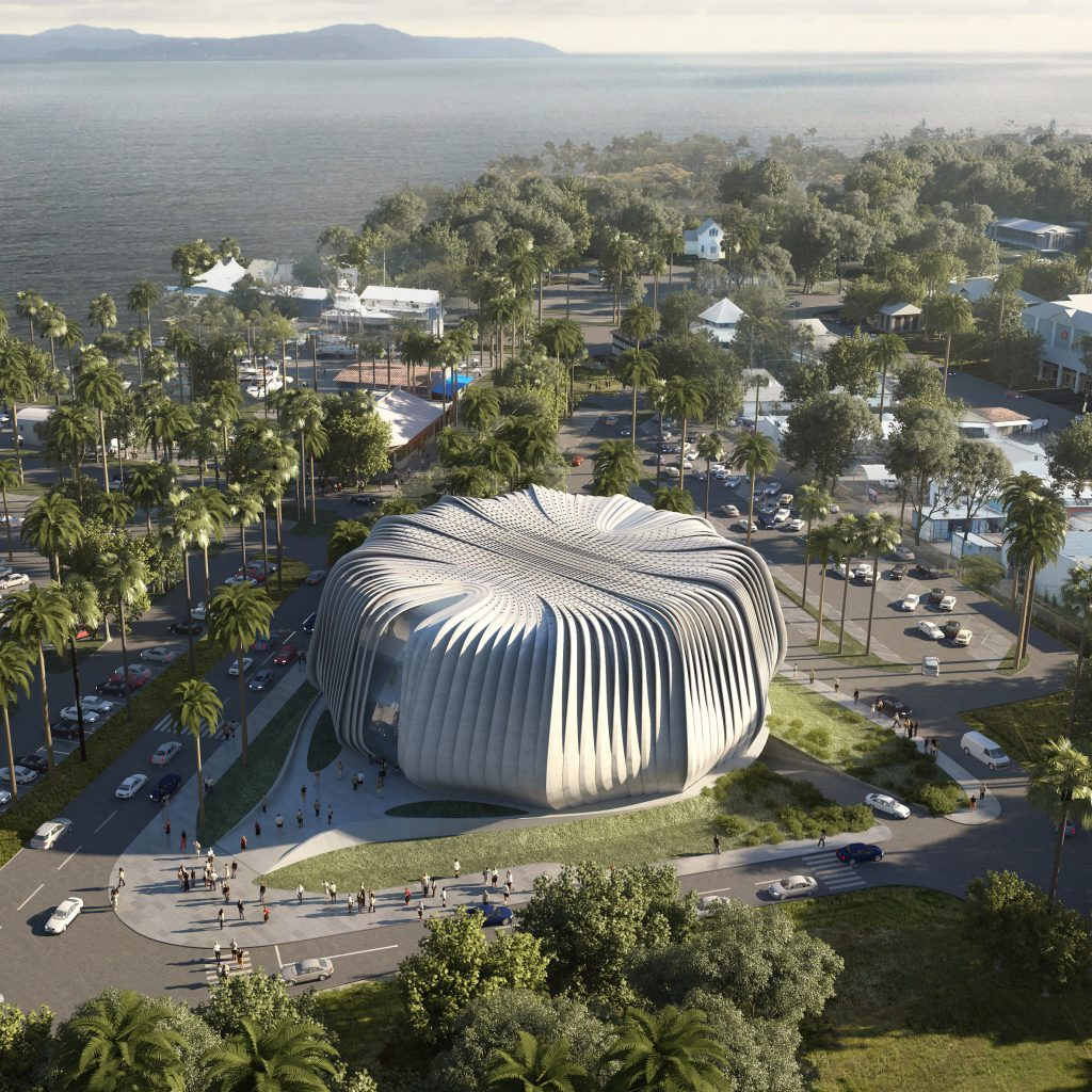"""Contreras Earl Architecture designs """"living ark"""" for coral conservation"""