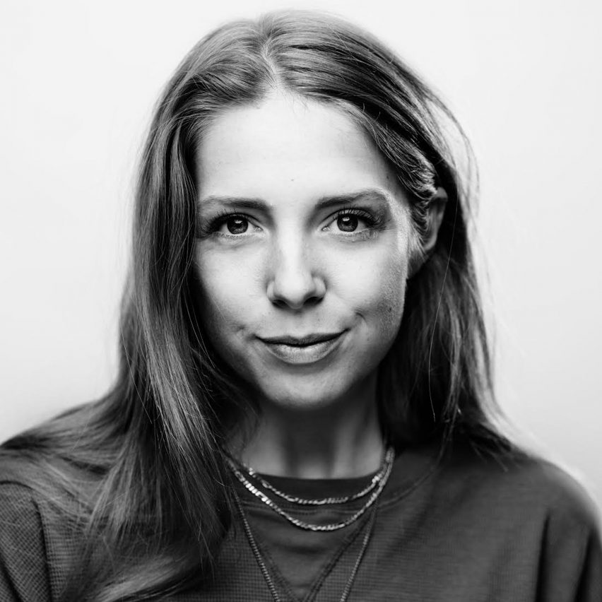 Portrait of The Fabricant founder Amber Jae Slooten