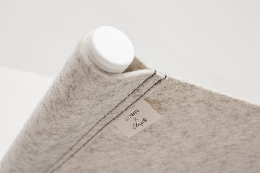 Swing by Choupette x LucyBalu is made of wool