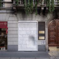 Nendo designs Marsotto showroom in Milan with marble facade