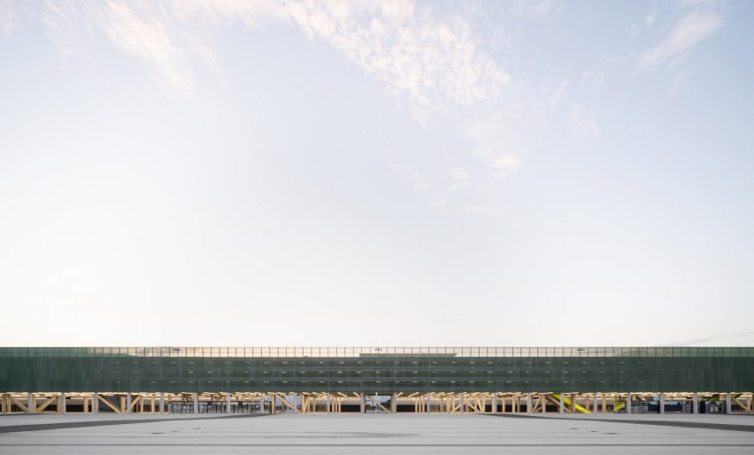 MEETT exhibition centre in Toulouse, France, by OMA