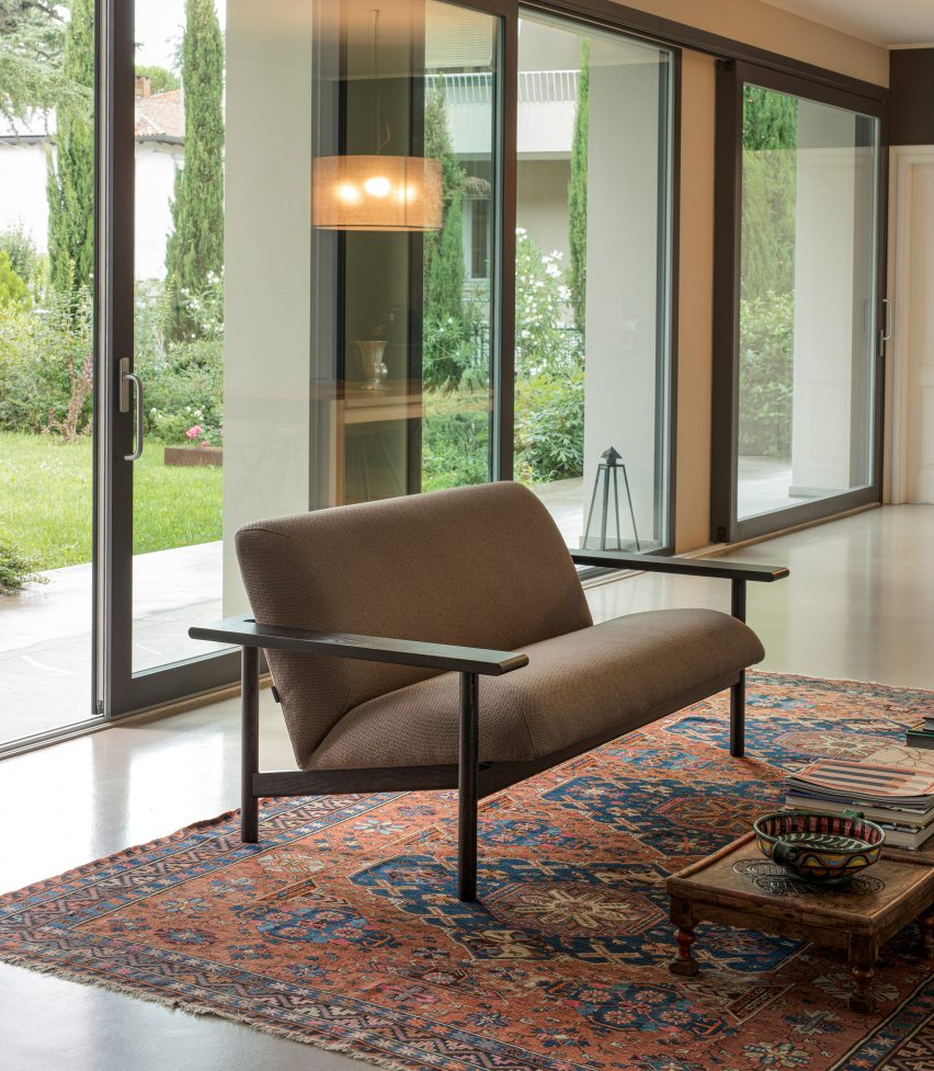 Kinoko sofa by Mentsen for Zilio A&C