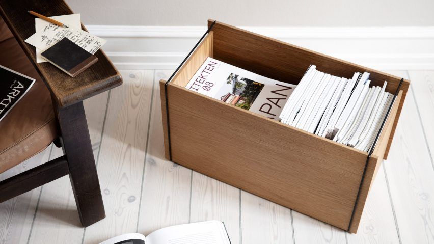 Storage box by Moebe