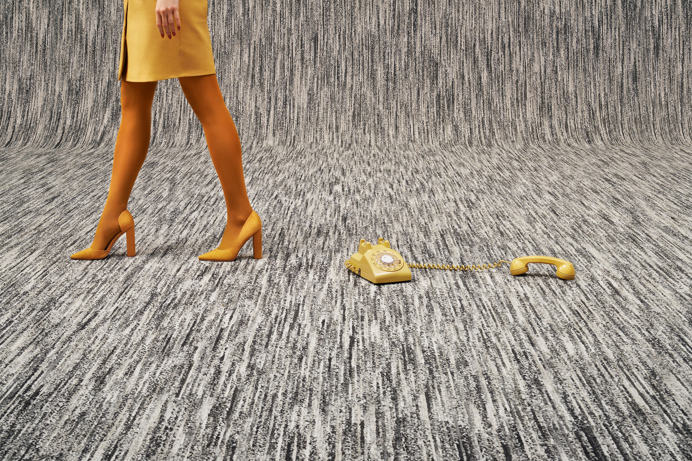 MEET × BEAT carpet by Ippolito Fleitz Group for Object Carpet