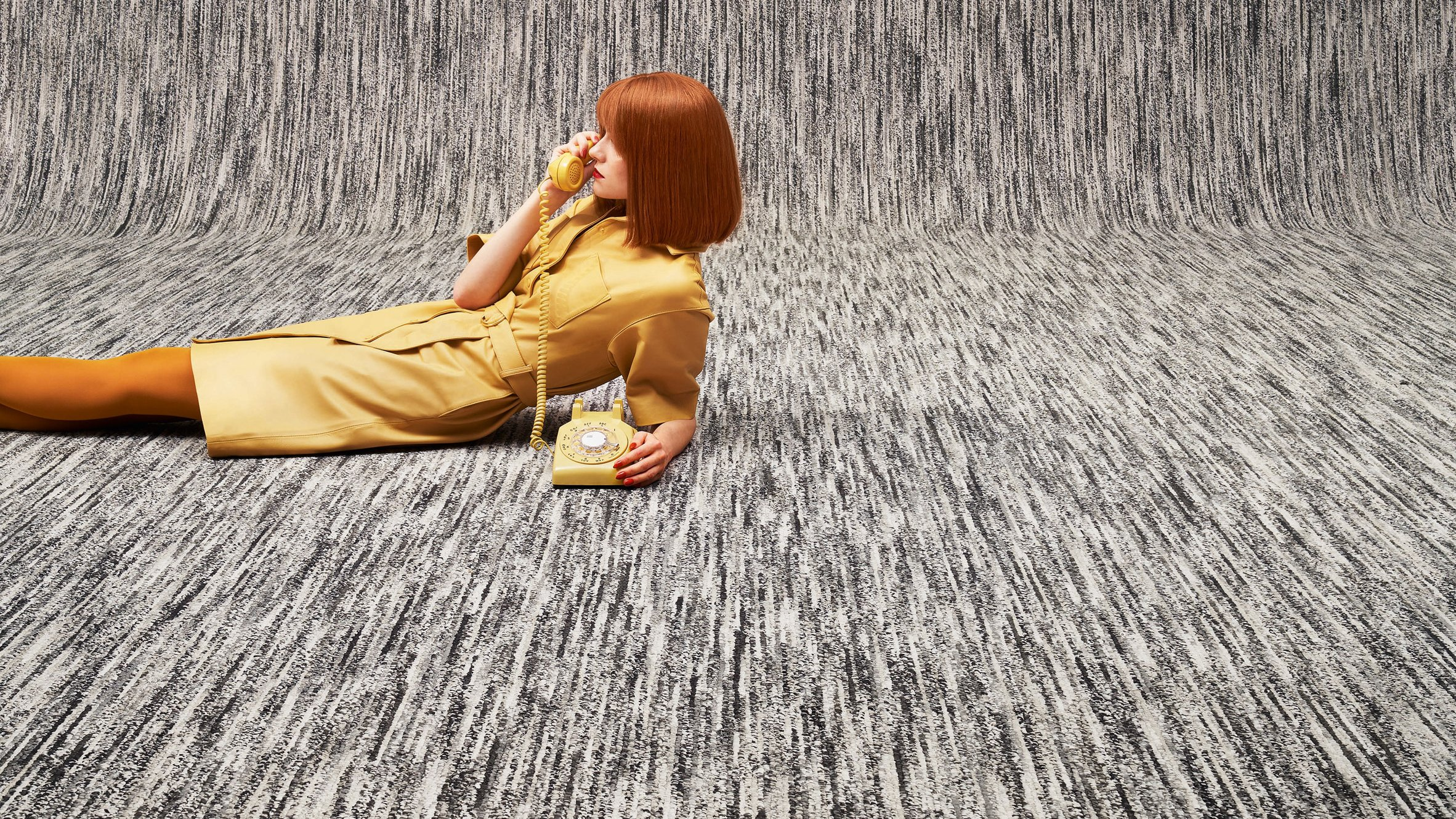 MEET × BEAT carpet by Ippolito Fleitz Group for Object Carpet