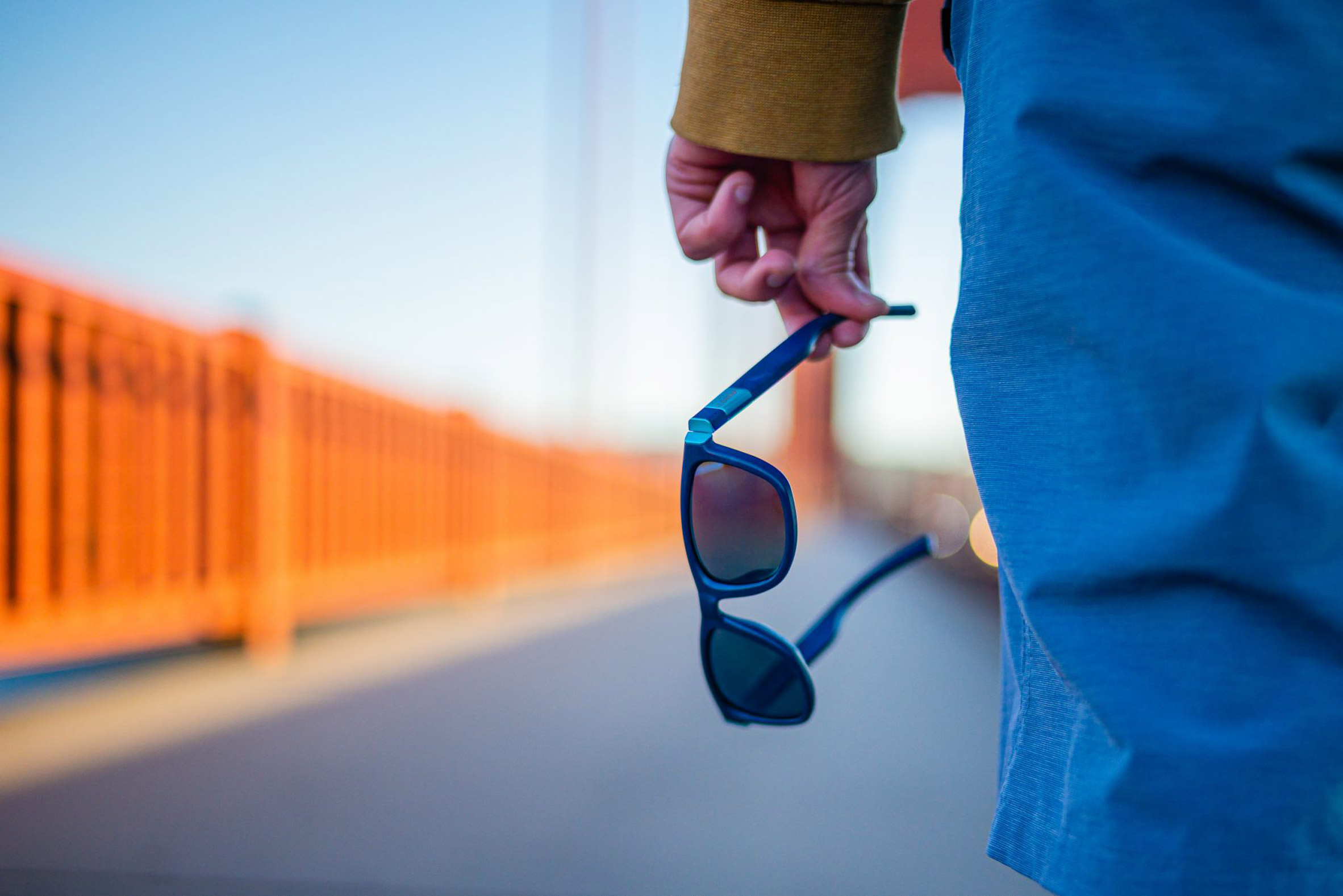 Yves Béhar makes sunglasses from recycled marine plastic
