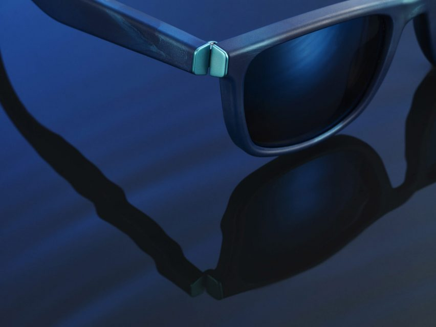 Yves Béhar makes sunglasses from plastic collected by The Ocean Cleanup