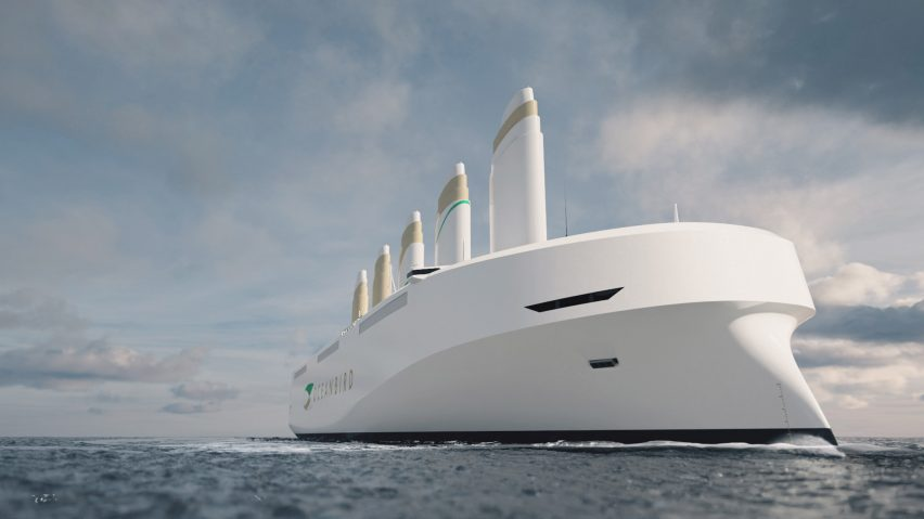 Oceanbird will be the world's largest wind-powered vessel