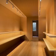 Interior of Pinocchio tiny bakery in Japan by I IN