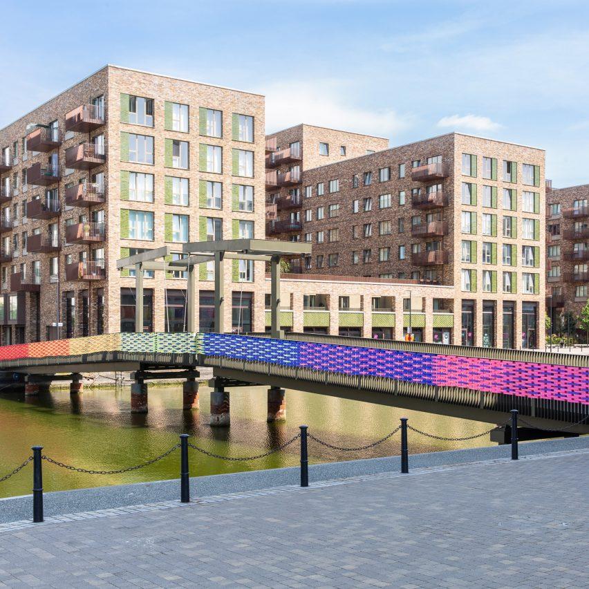 RAW Rainbow design installation by Studio Curiosity in London, UK