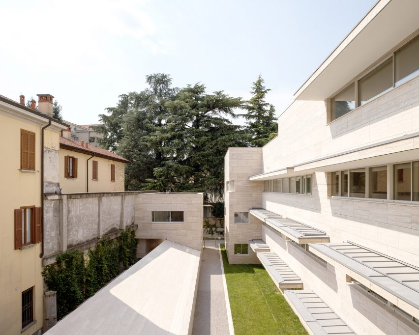 Housing in Gallarate in Lombardy
