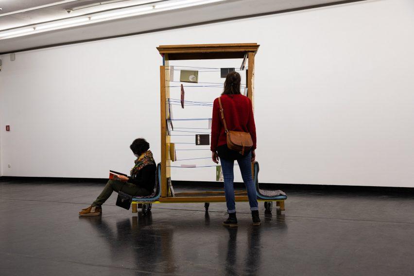 Installation view of Riot Design exhibition
