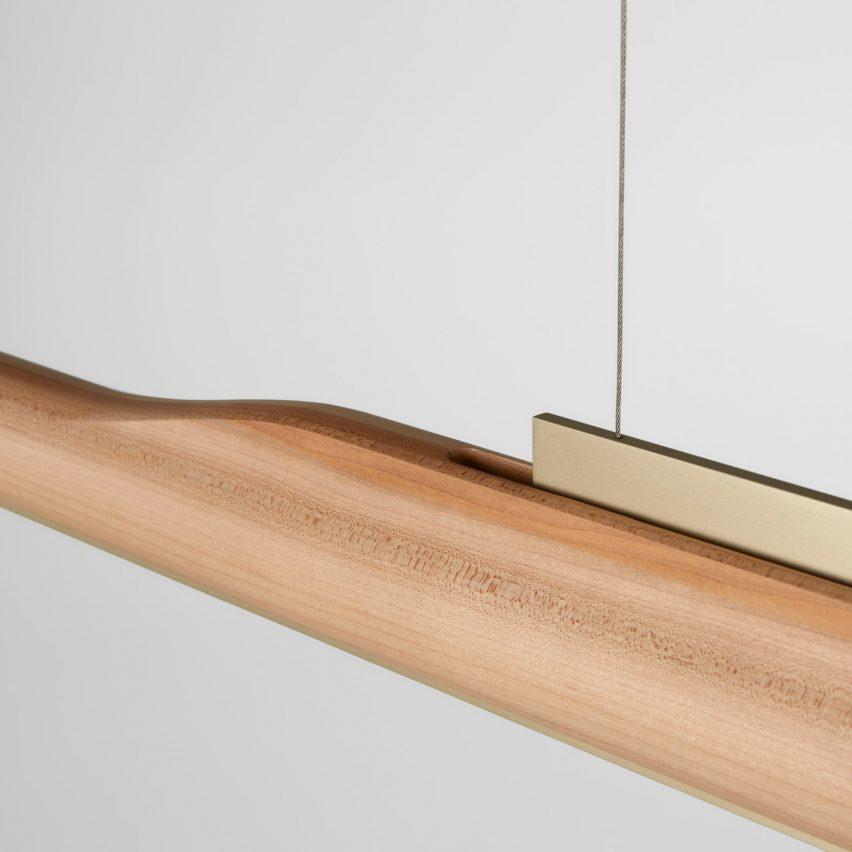 Arbour linear light by Ross Gardam