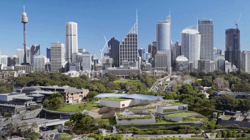 Sydney Modern by SANAA