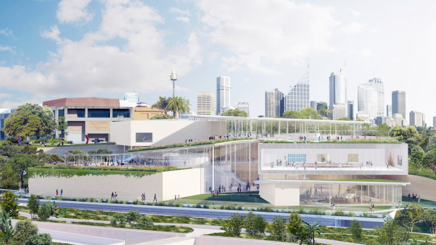 Expansion to Art Gallery of New South Wales by SANAA