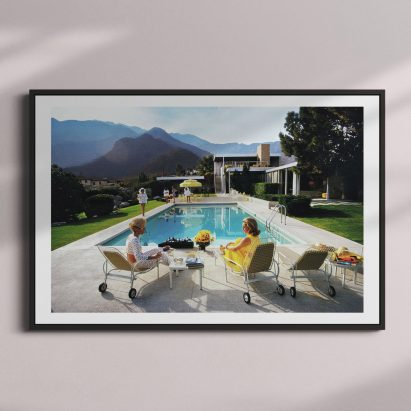 Framed print of Poolside Glamour by Slim Aarons