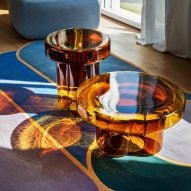 Yiannis Ghikas creates blown-glass Soda coffee table for Miniforms