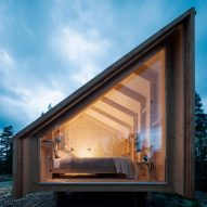 Space of Mind is a modular cabin designed to be built anywhere