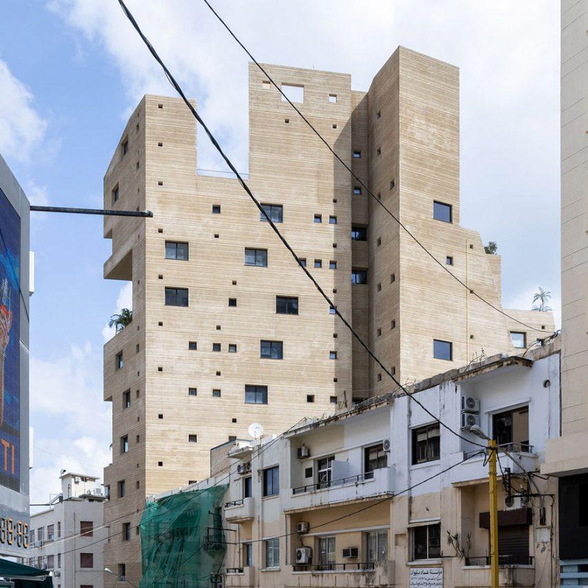 Lina Ghotmeh's Stone Garden apartment block survives Beirut explosion