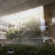 Renders for AI City and Cloud Valley campus designed by BIG for Terminus Group