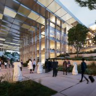 Outside AI City and Cloud Valley campus designed by BIG for Terminus Group