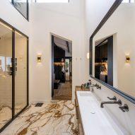 Bathroom in The Gymnasium apartment by Robbert De Goede