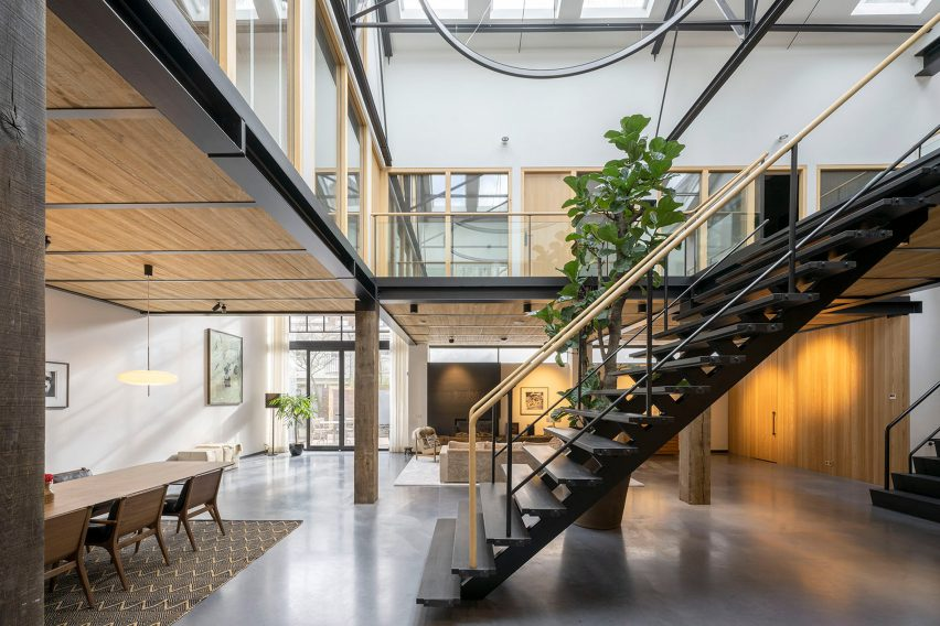 Inside of The Gymnasium apartment by Robbert De Goede